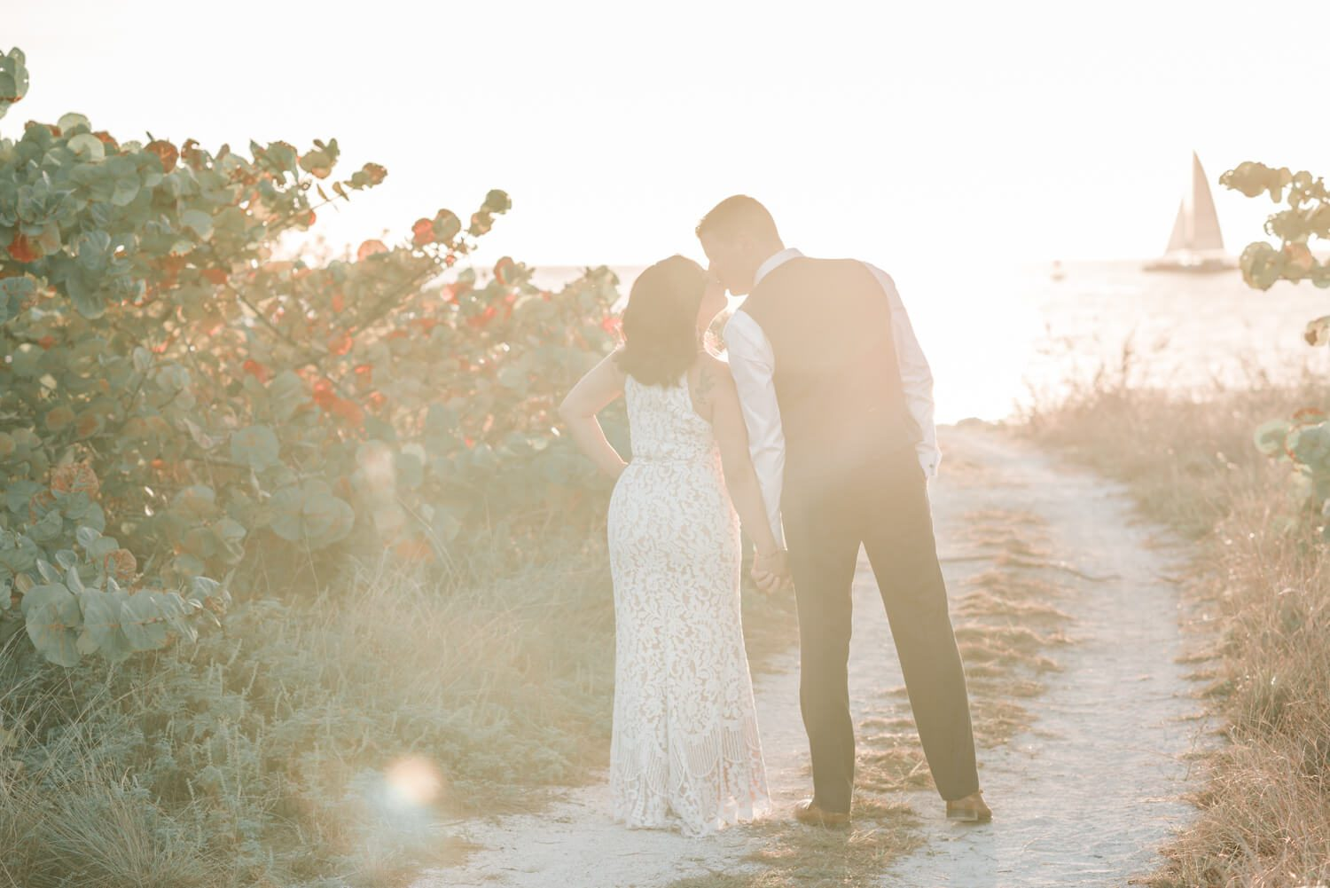 Jessica Ed Key West Engagement Photography 13 1 - Jessica & Ed - Key West Engagement Photographer - Fort Zachary Taylor