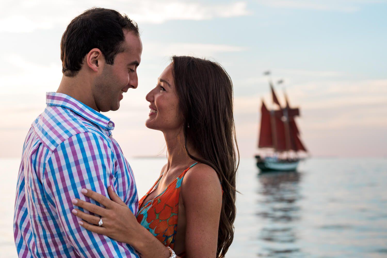 Freas Engagement Photography Key West 20 - Elizabeth & Alex - Schooner Hindu Proposal - Key West Engagement Photography