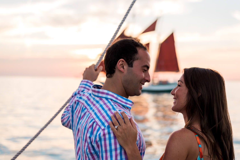 Freas Engagement Photography Key West 25 - Elizabeth & Alex - Schooner Hindu Proposal - Key West Engagement Photography