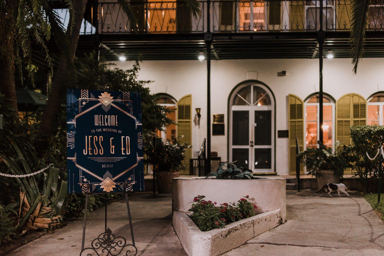 Hemingway Home Wedding Jess Ed 111 - Vintage Hollywood Wedding - Hemingway House Wedding - Key West Wedding Photographer