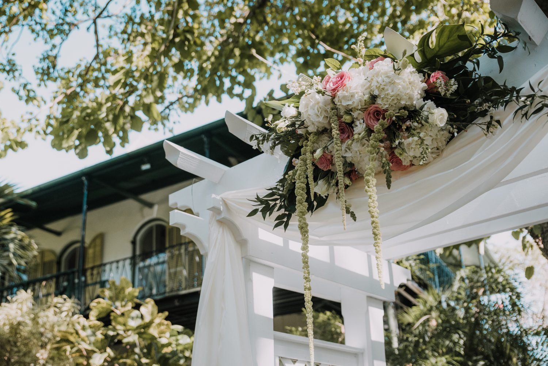 Hemingway Home Wedding Jess Ed 53 - Vintage Hollywood Wedding - Hemingway House Wedding - Key West Wedding Photographer