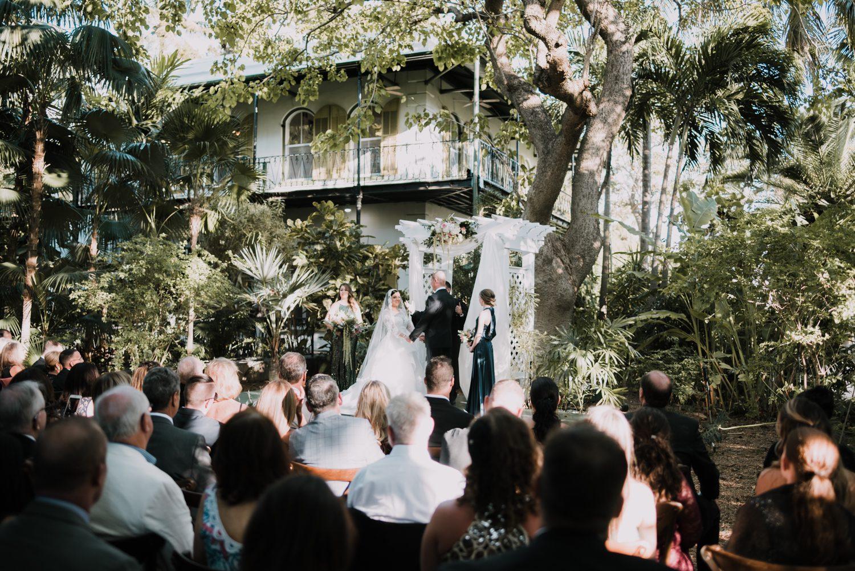 Hemingway Home Wedding Jess Ed 68 - Vintage Hollywood Wedding - Hemingway House Wedding - Key West Wedding Photographer