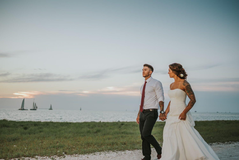 Fort Zachary Taylor Elopement KJ 36 - Key West Elopement - Fort Zachary Taylor - Key West Wedding Photographer