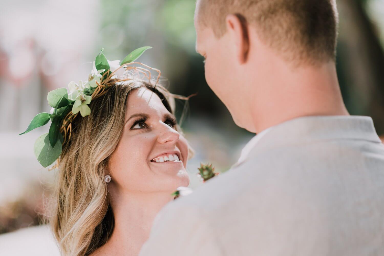 Key West Wedding KF 36 - Kristina & Forrest | Fort Zachary Taylor | Key West Wedding Photographer