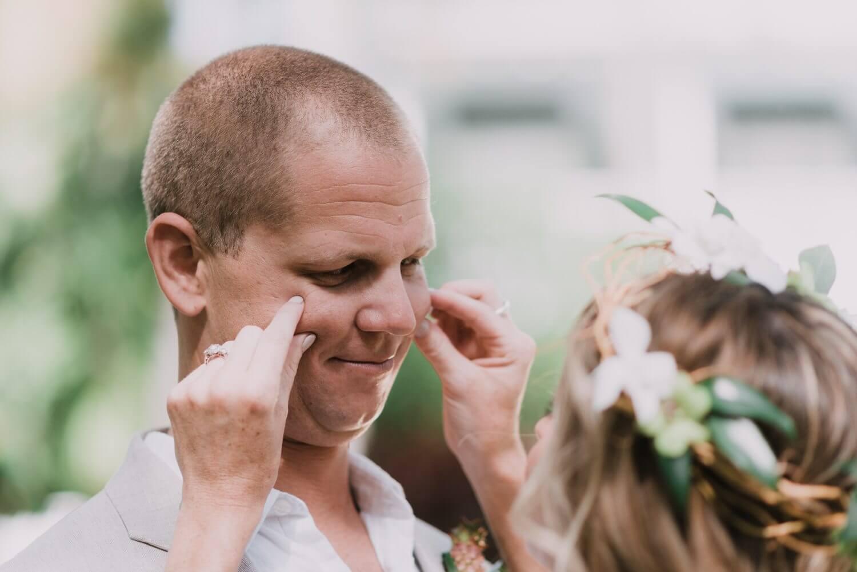 Key West Wedding KF 37 - Kristina & Forrest | Fort Zachary Taylor | Key West Wedding Photographer