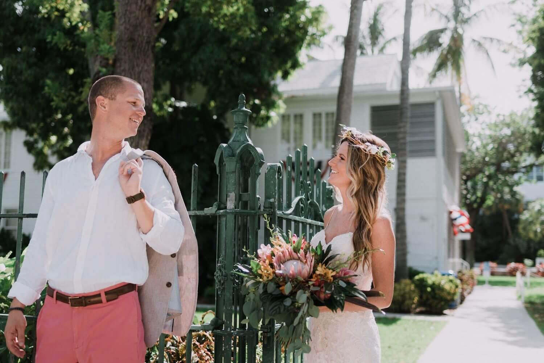 Key West Wedding KF 38 - Kristina & Forrest | Fort Zachary Taylor | Key West Wedding Photographer