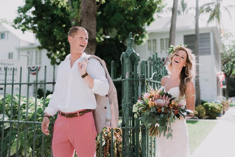 Key West Wedding KF 39 - Kristina & Forrest | Fort Zachary Taylor | Key West Wedding Photographer