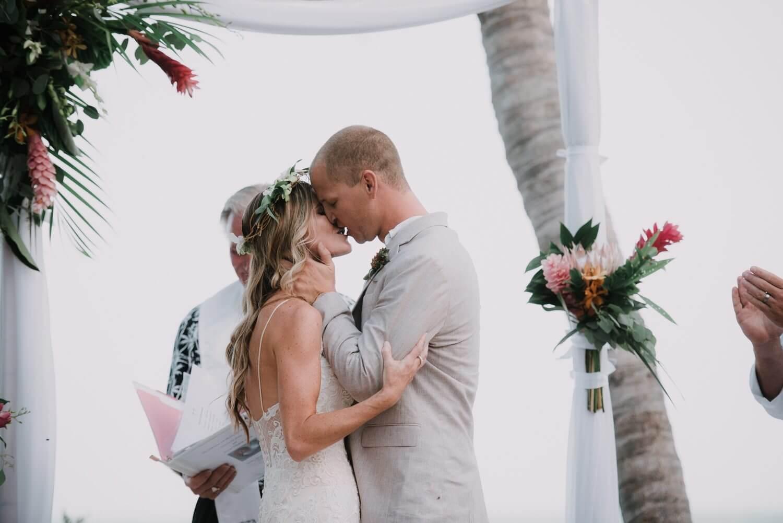 Key West Wedding KF 69 - Kristina & Forrest | Fort Zachary Taylor | Key West Wedding Photographer