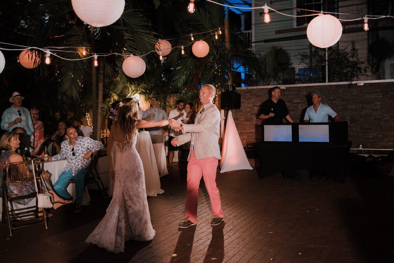 Key West Wedding KF 79 - Kristina & Forrest | Fort Zachary Taylor | Key West Wedding Photographer
