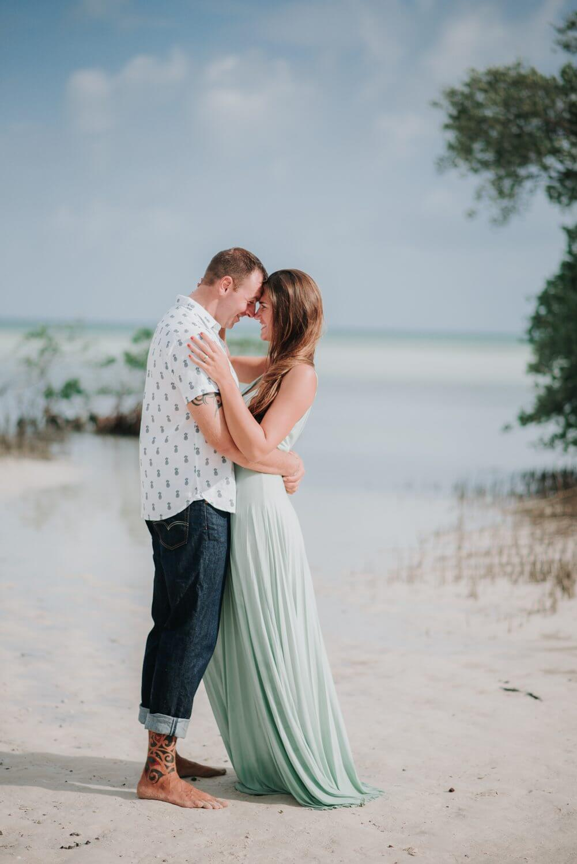 Key West Engagement Beach Session Megan Josh 13 - Key West Engagement Session - Megan & Josh - Marvin Key