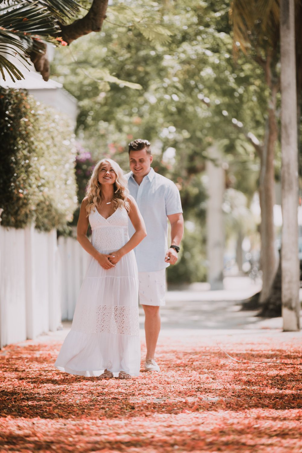 fort zachary taylor snipes key west engagement 1 - Key West Engagement Session - Cecilia & Dominick