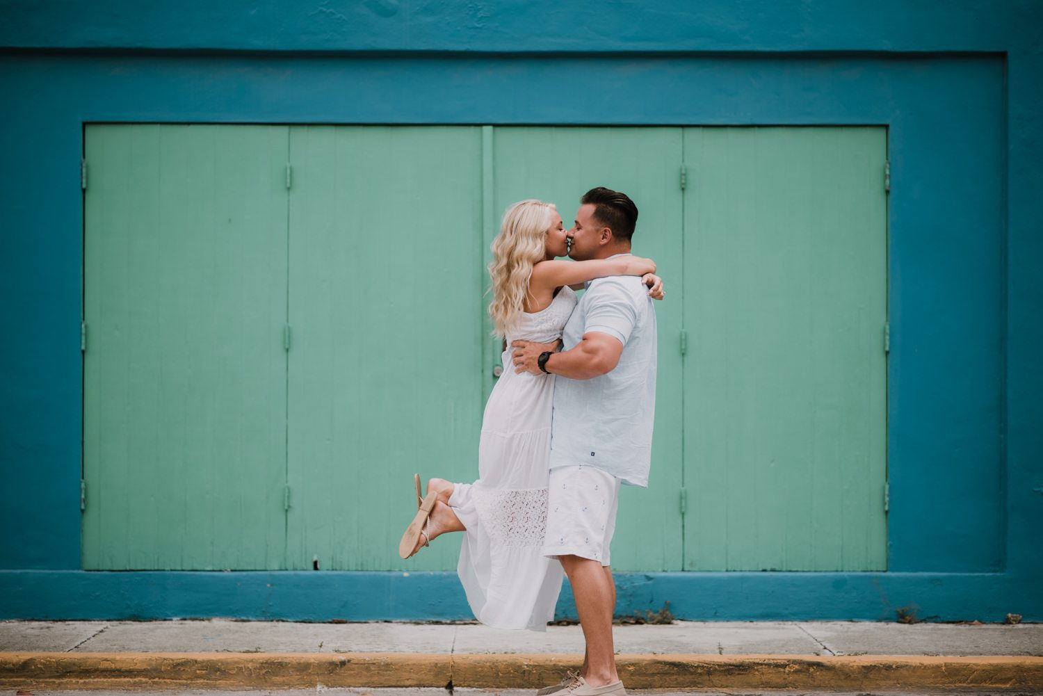 fort zachary taylor snipes key west engagement 11 - Key West Engagement Session - Cecilia & Dominick
