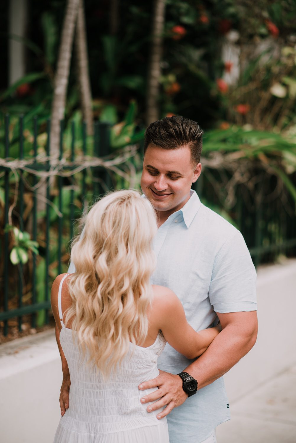 fort zachary taylor snipes key west engagement 14 - Key West Engagement Session - Cecilia & Dominick