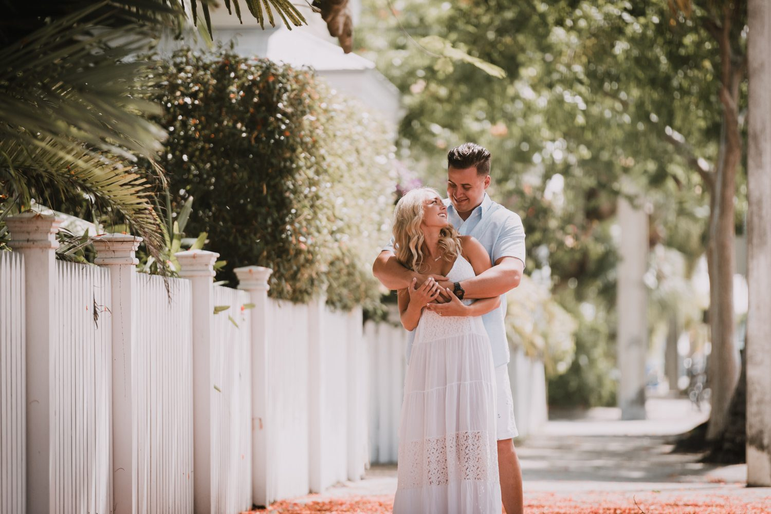 fort zachary taylor snipes key west engagement 2 - Key West Engagement Session - Cecilia & Dominick