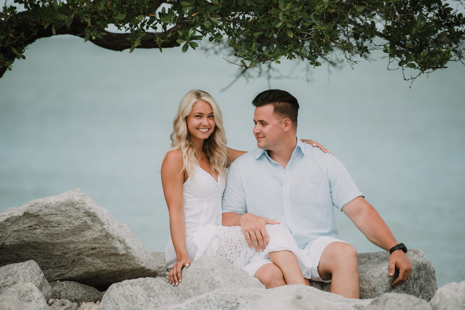 fort zachary taylor snipes key west engagement 22 - Key West Engagement Session - Cecilia & Dominick