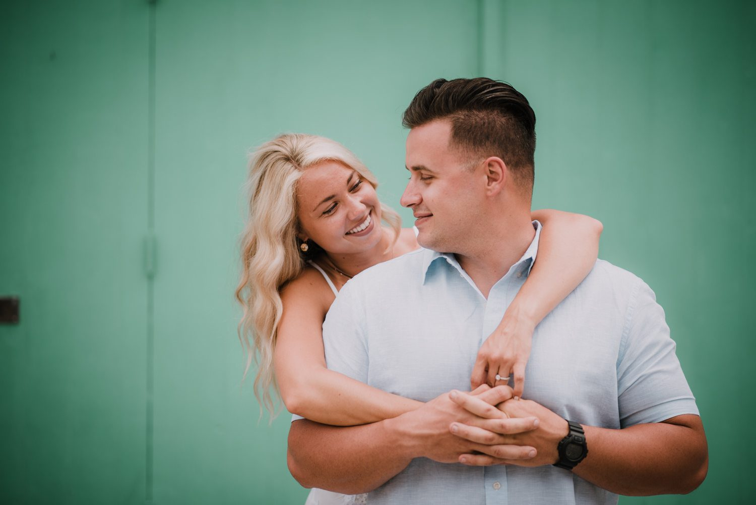 fort zachary taylor snipes key west engagement 9 - Key West Engagement Session - Cecilia & Dominick