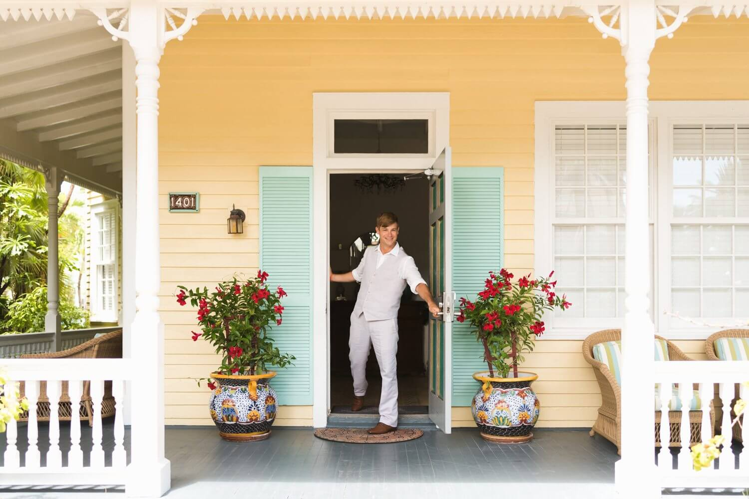 Freas Photography Southernmost House Wedding 16 - Boho Styled Key West Wedding at the Southernmost House in Key West, Florida