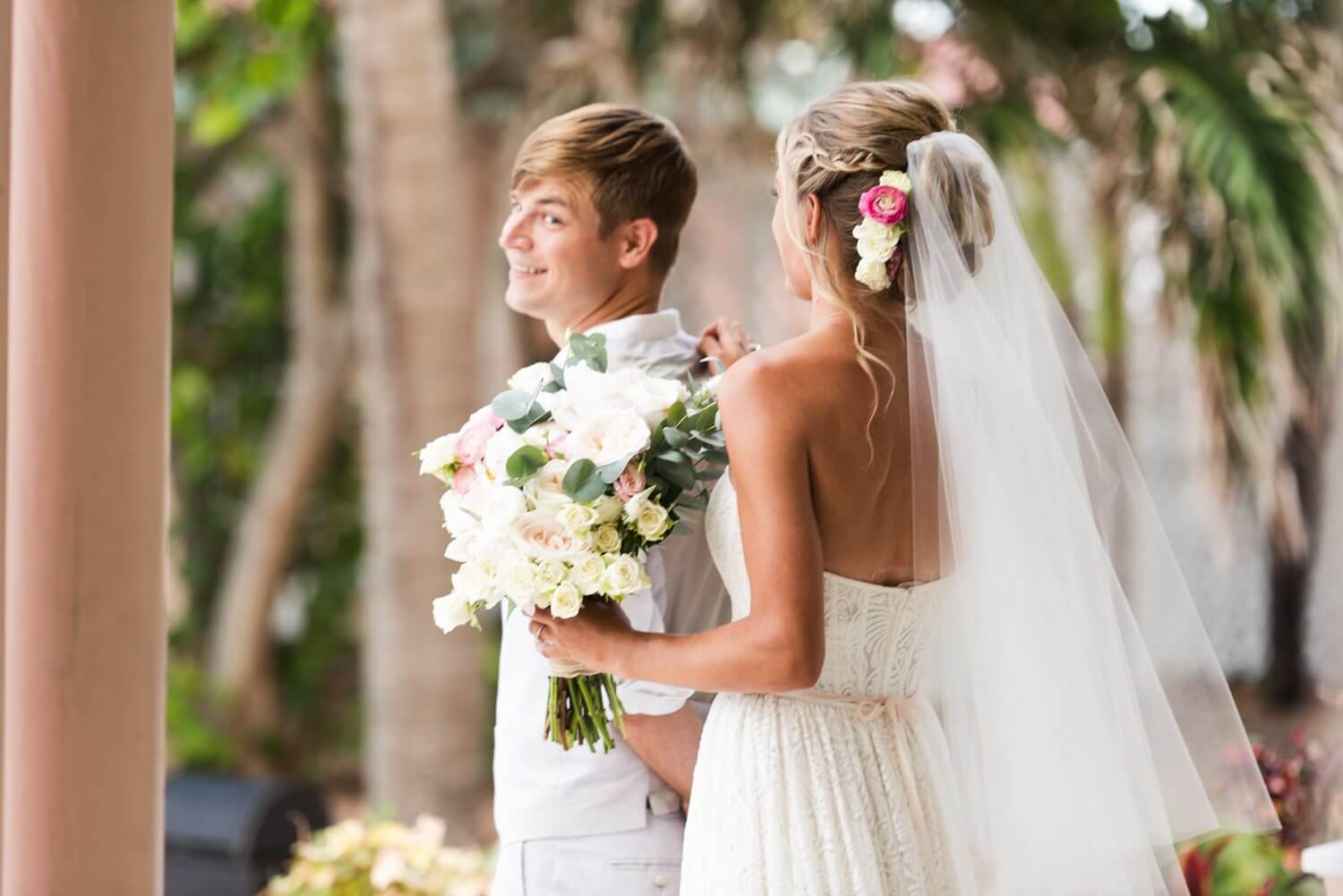 Freas Photography Southernmost House Wedding 48 - Boho Styled Key West Wedding at the Southernmost House in Key West, Florida