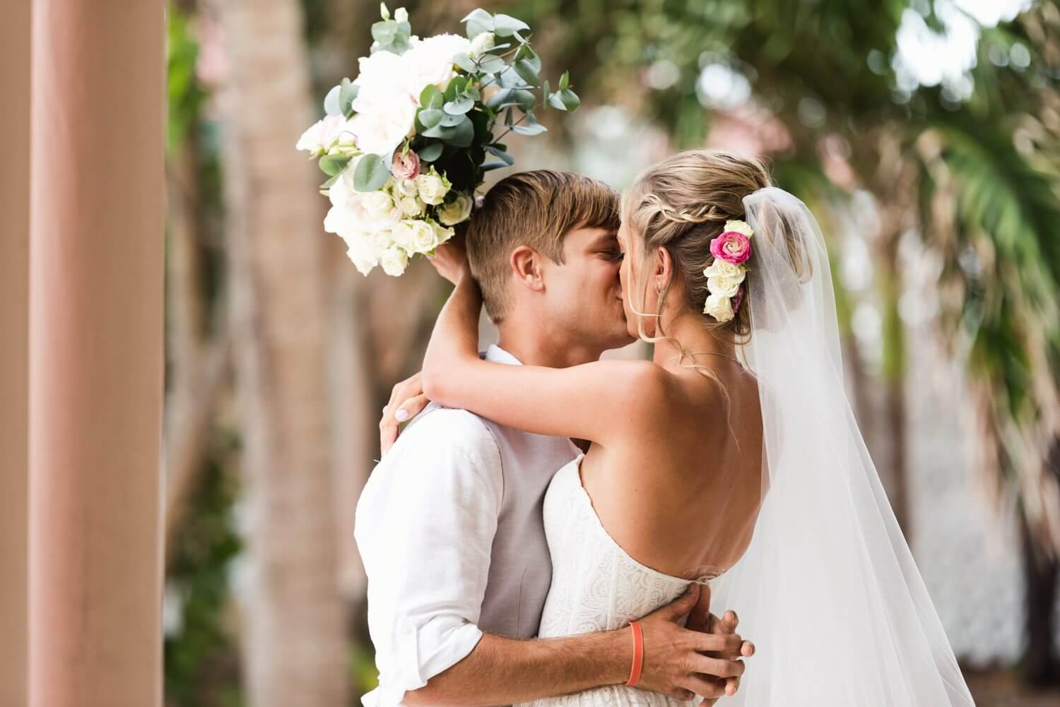 Freas Photography Southernmost House Wedding 49 - Boho Styled Key West Wedding at the Southernmost House in Key West, Florida