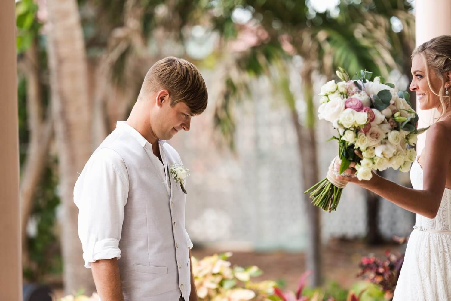 Freas Photography Southernmost House Wedding 51 - Boho Styled Key West Wedding at the Southernmost House in Key West, Florida