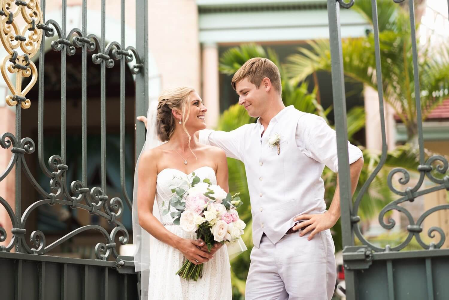 Freas Photography Southernmost House Wedding 62 - Boho Styled Key West Wedding at the Southernmost House in Key West, Florida