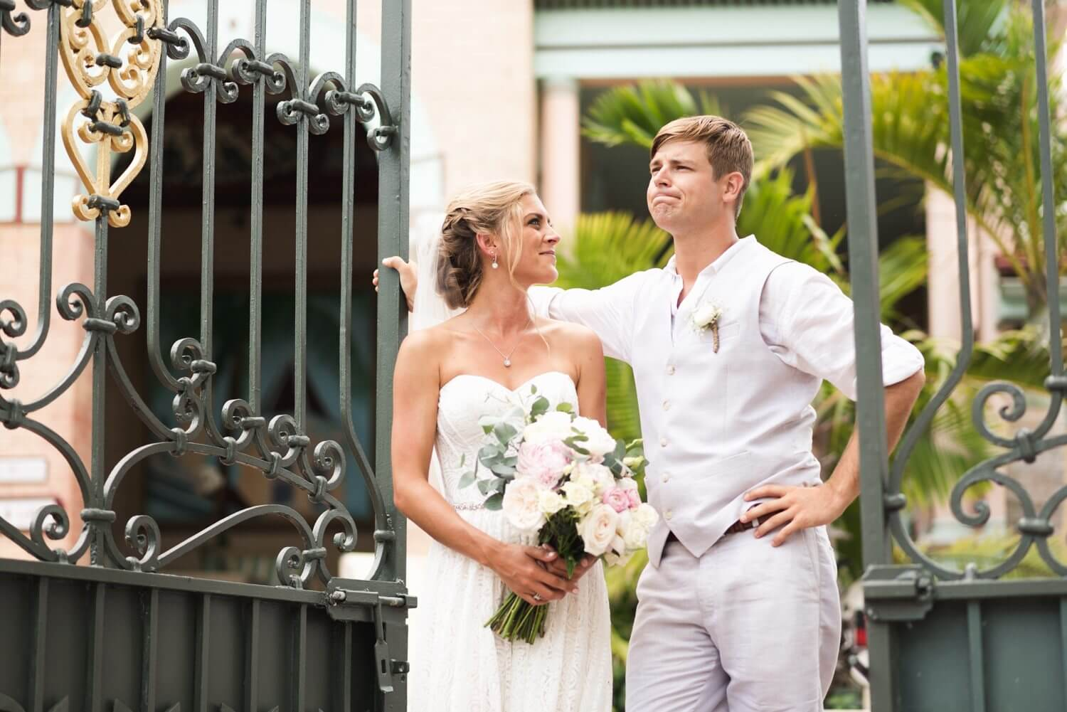 Freas Photography Southernmost House Wedding 63 - Boho Styled Key West Wedding at the Southernmost House in Key West, Florida