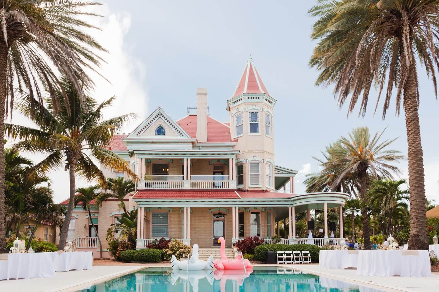 Freas Photography Southernmost House Wedding 66 - Boho Styled Key West Wedding at the Southernmost House in Key West, Florida