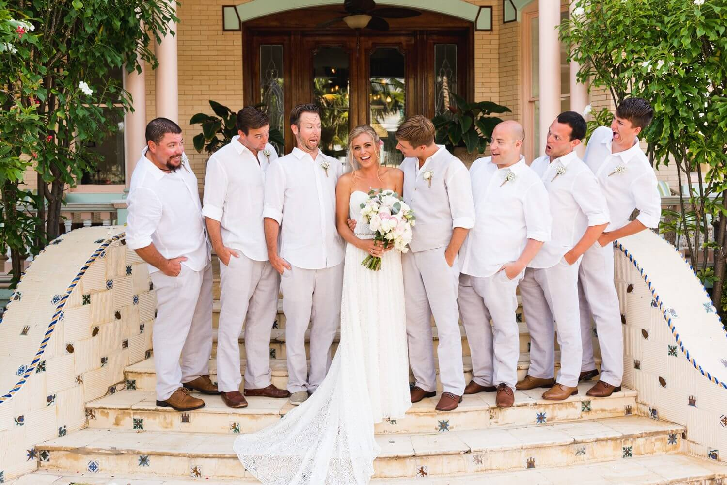 Freas Photography Southernmost House Wedding 72 - Boho Styled Key West Wedding at the Southernmost House in Key West, Florida