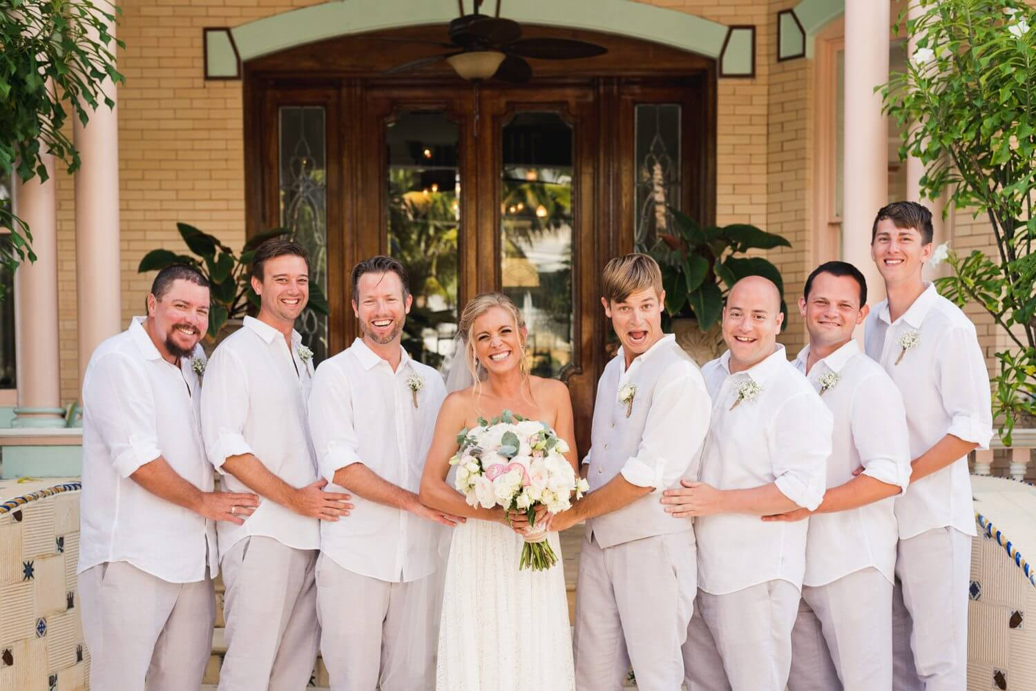 Freas Photography Southernmost House Wedding 73 - Boho Styled Key West Wedding at the Southernmost House in Key West, Florida