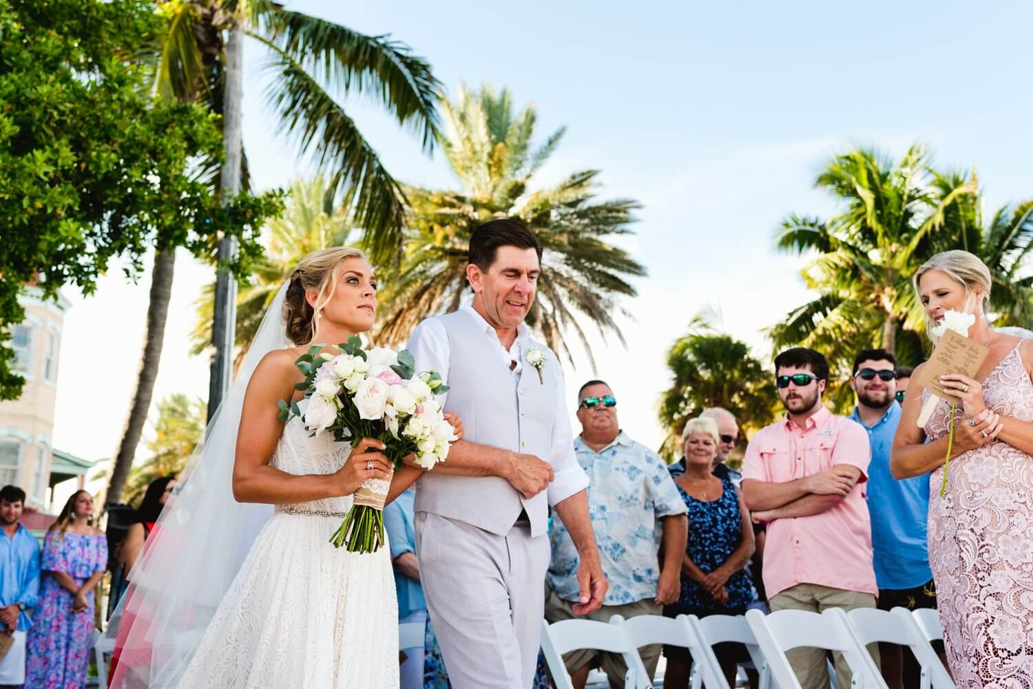 Freas Photography Southernmost House Wedding 92 - Boho Styled Key West Wedding at the Southernmost House in Key West, Florida